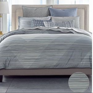 MACYS HOTEL COLLECTION DIAMOND STRIPE COMFORTER